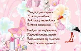 Поздравить родителей с днём рождения дочки