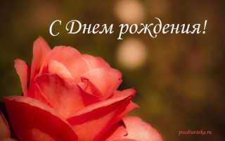 Поздравления с днём рождения оксана