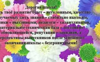 Поздравления с днём рождения ученику