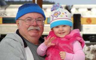 Поздравления с днём рождения дедушке от внучки