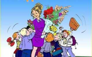 Поздравление учительнице на день рождение